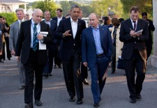 Souza, Pete. Barack Obama and Vladimir Putin Walking in Ireland. Digital image. Wikimedia Commons. Wikimedia Commons, 17 June 2013. Web. 25 Mar. 2014.